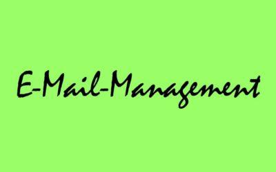 E-Mail-Management – Was Sie tun sollten und was nicht